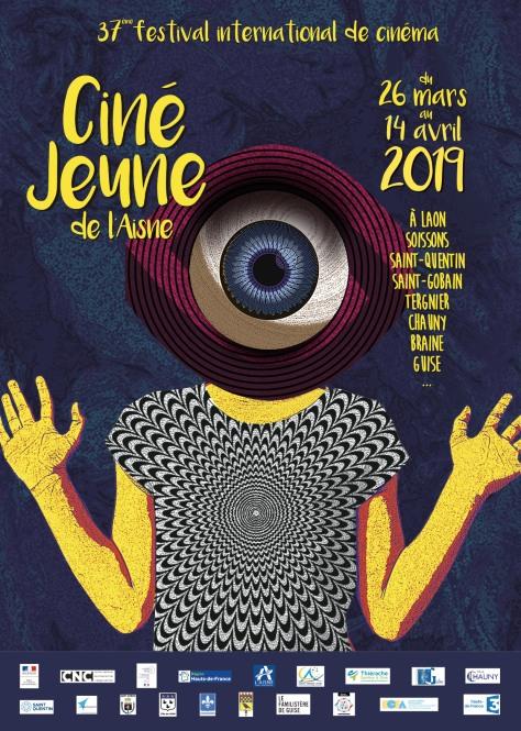 Affiche Festival Ciné-Jeune 2019